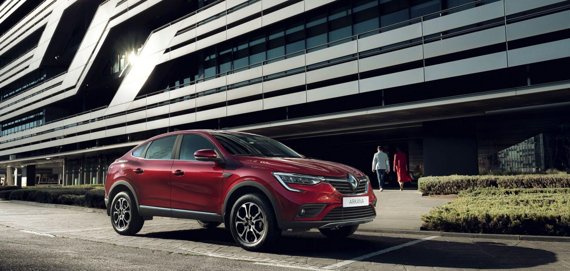 Купе-кросовер Renault із Запоріжжя: подробиці і ціни