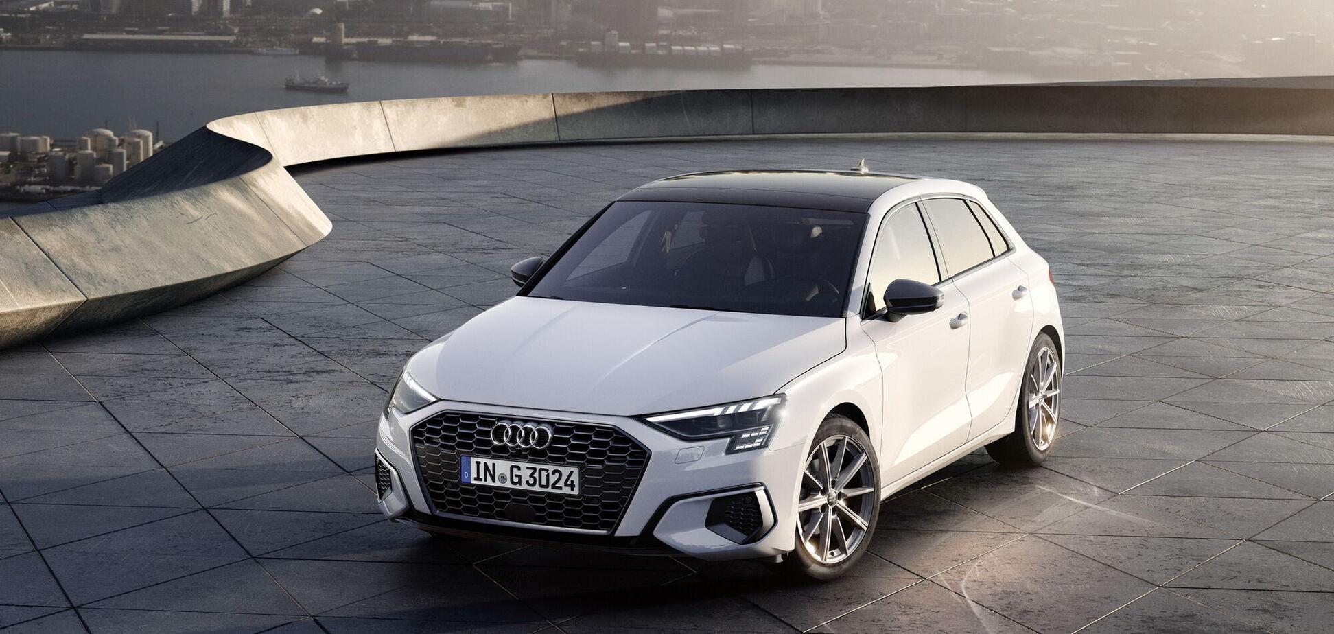 Audi презентувала хетчбек A3 Sportback з ГБО