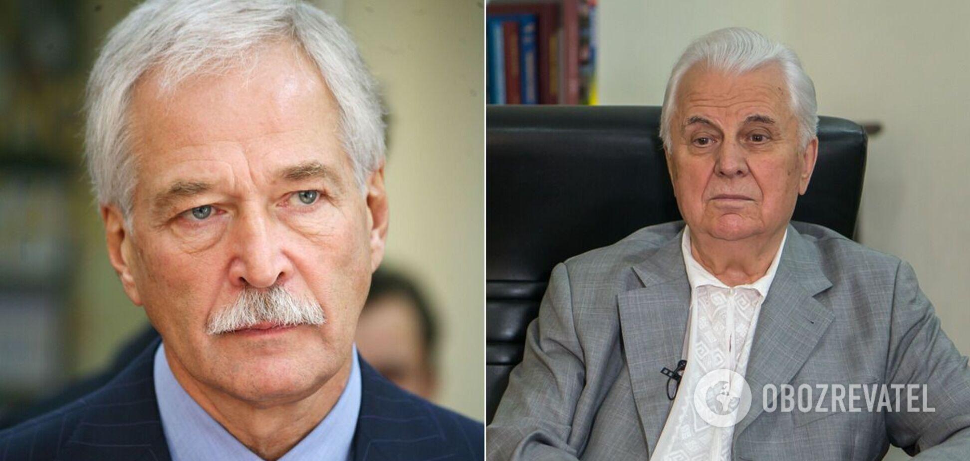Леонід Кравчук зажадав вибачень від Бориса Гризлова