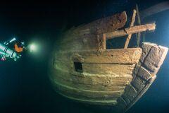 На дне Балтики нашли корабль 17 века