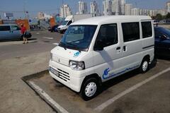 В Украине засветился очень редкий электромобиль из Японии