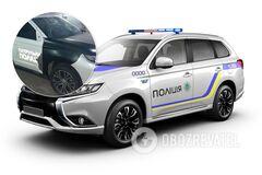 Автомобиль патрульной полиции стал донором для 'битка' из США