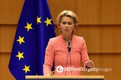 Урсула фон дер Ляйен предостерегла политиков ЕС от сближения с Кремлем