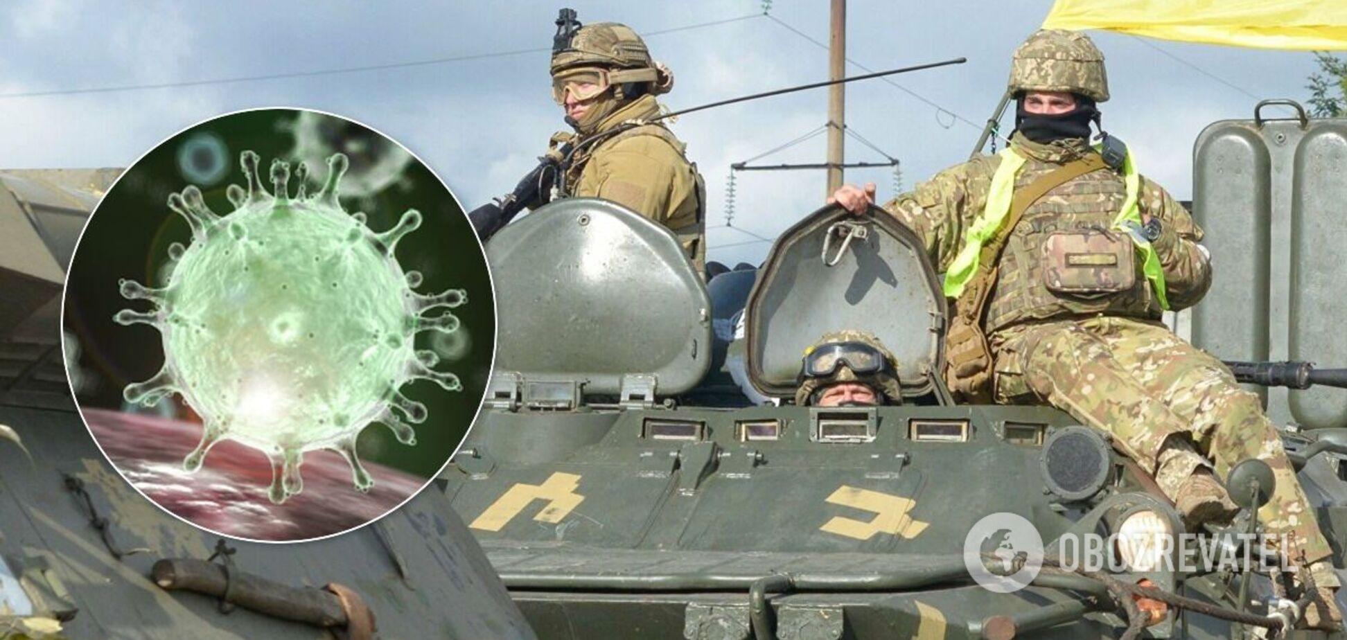 У ВСУ від коронавируса померли вже 8 бійців