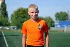 13-річний хлопчик із Червонограда став новачком футбольної Академії ФК 'Шахтар'