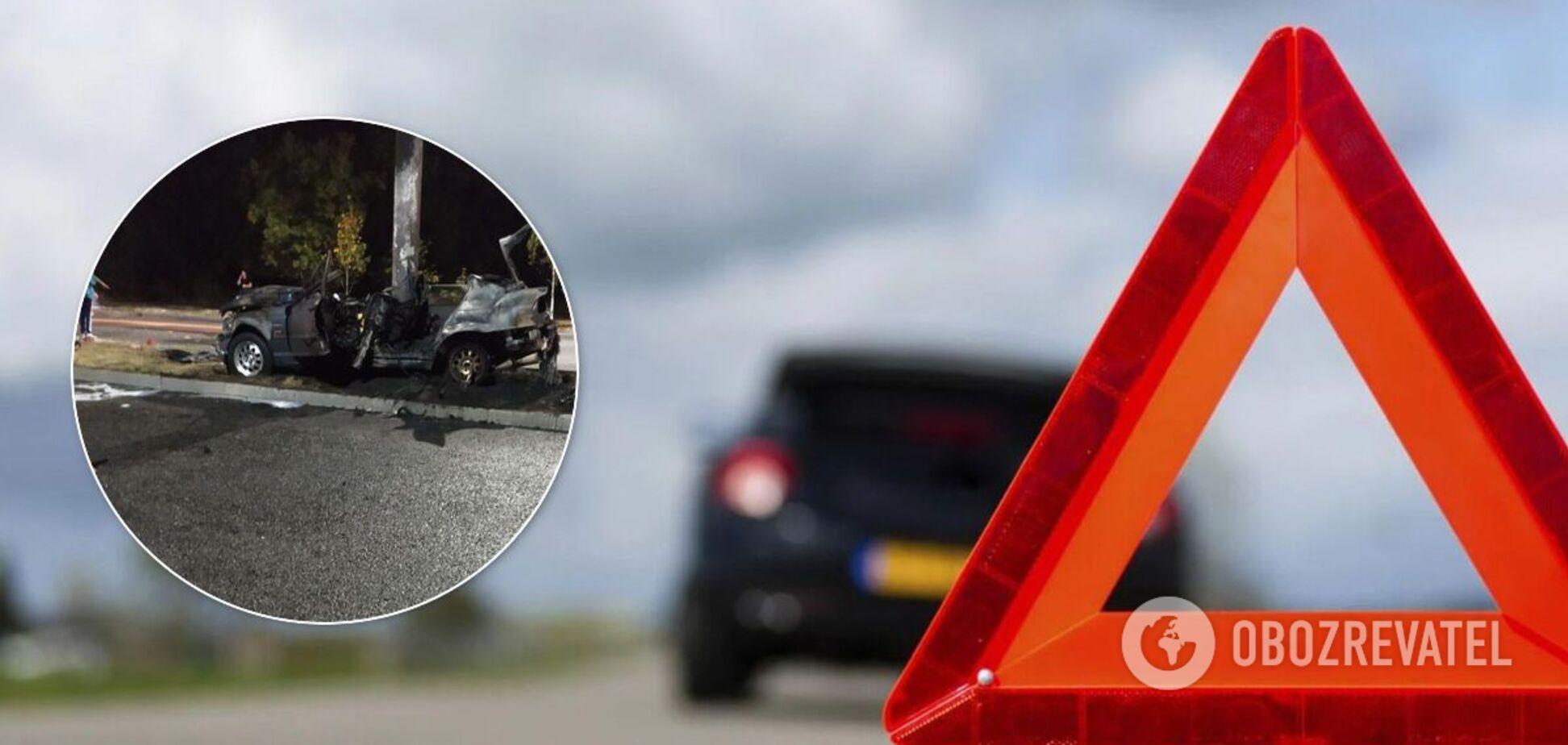 В результате ДТП в Запорожье погибли три человека