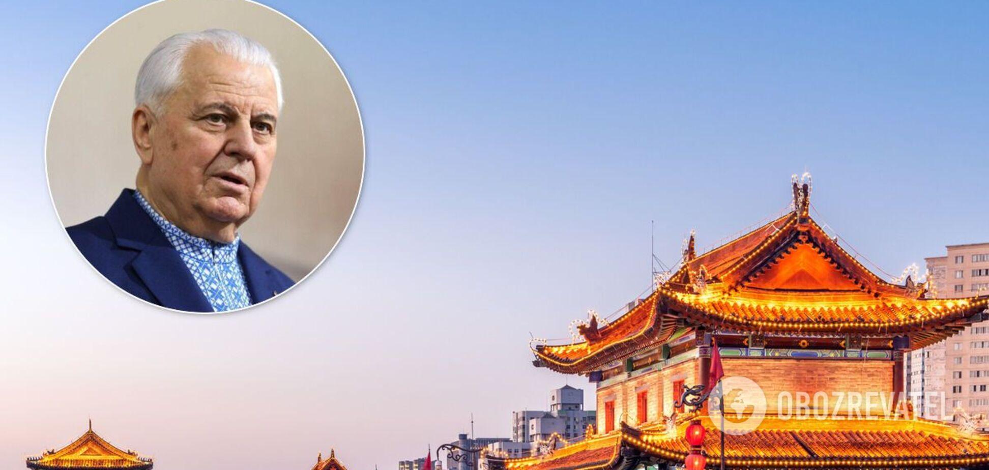 Кравчук виявився з китайським привітом