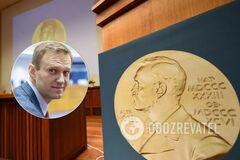Навального хотят номинировать на Нобелевскую премию