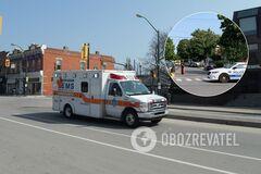 В результате наезда на пешеходов в Монреале пострадали 9 человек