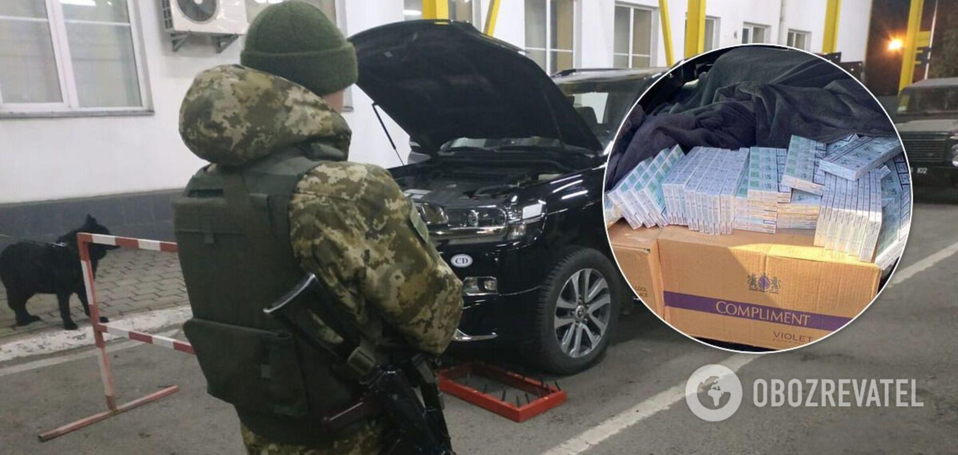 На венгерской границе задержали 10 тысяч контрабандных сигарет из Украины
