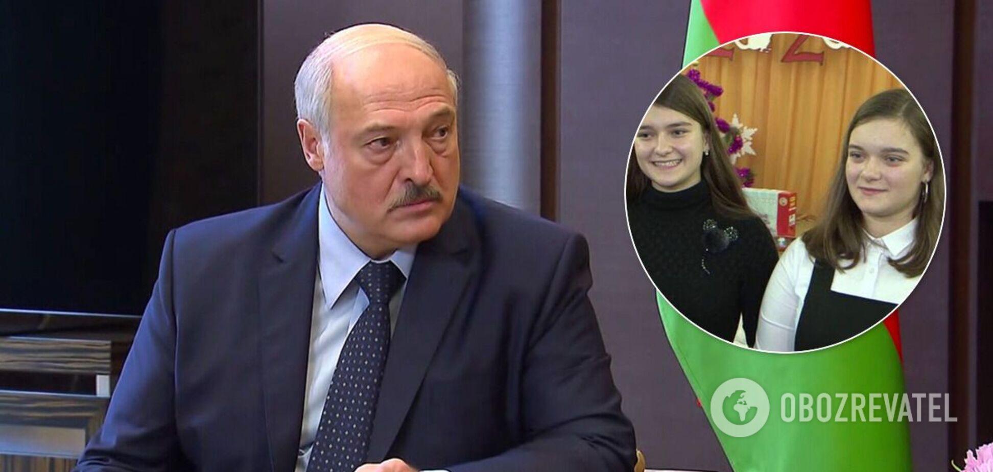 Внучки Лукашенка слідом за його сином забрали документи з ліцею – ЗМІ