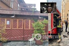 Взрыв произошел в ресторане 'Канапа'