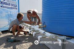 С 7 сентября в аннексированом Россией Крыму ввели почасовое снабжение питьевой воды