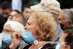 В Чехии впервые количество больных COVID-19 превысило 2 тысячи в сутки
