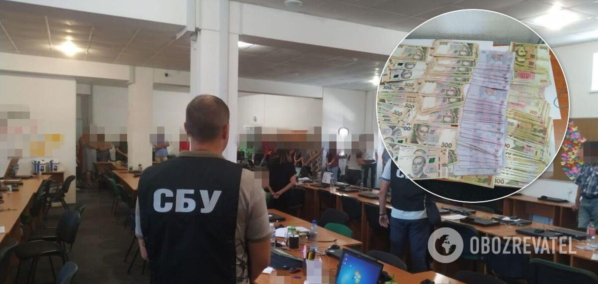 Мошенники из 'колл-центра банка' крали по 3 млн грн ежемесячно: СБУ раскрыла схему