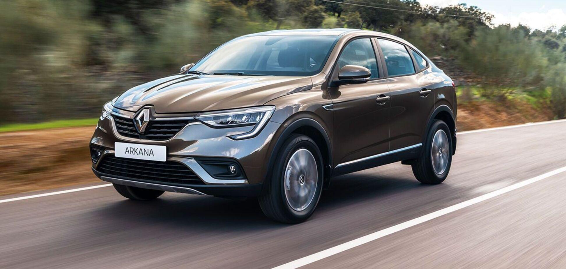 Блогери поділилися враженнями про Renault Arkana українського складання
