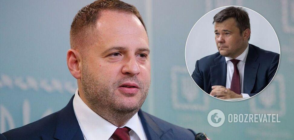 Єрмак заперечує домовленості з Росією