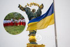 Хасиды показали, если захотеть, то за два дня можно выучить Гимн Украины
