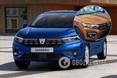 Как выглядит новый Renault Sandero вживую: опубликовано фото