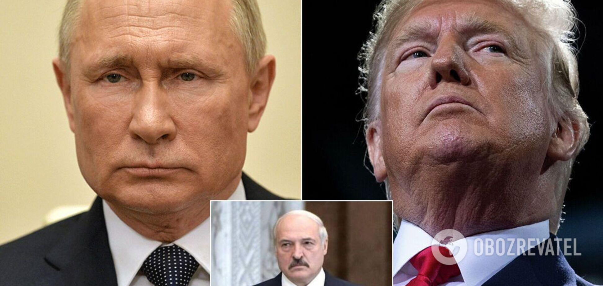 Путин, Трамп и Лукашенко получили Шнобелевскую премию