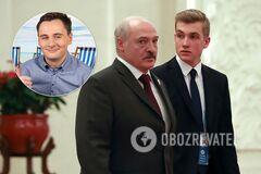 Колю Лукашенко назвали 'соучастником отца'