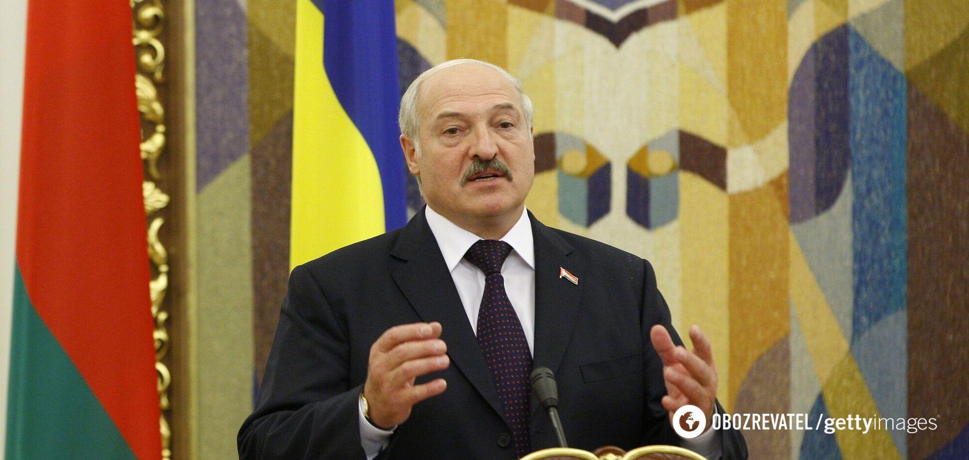 Железная маска сына Лукашенко