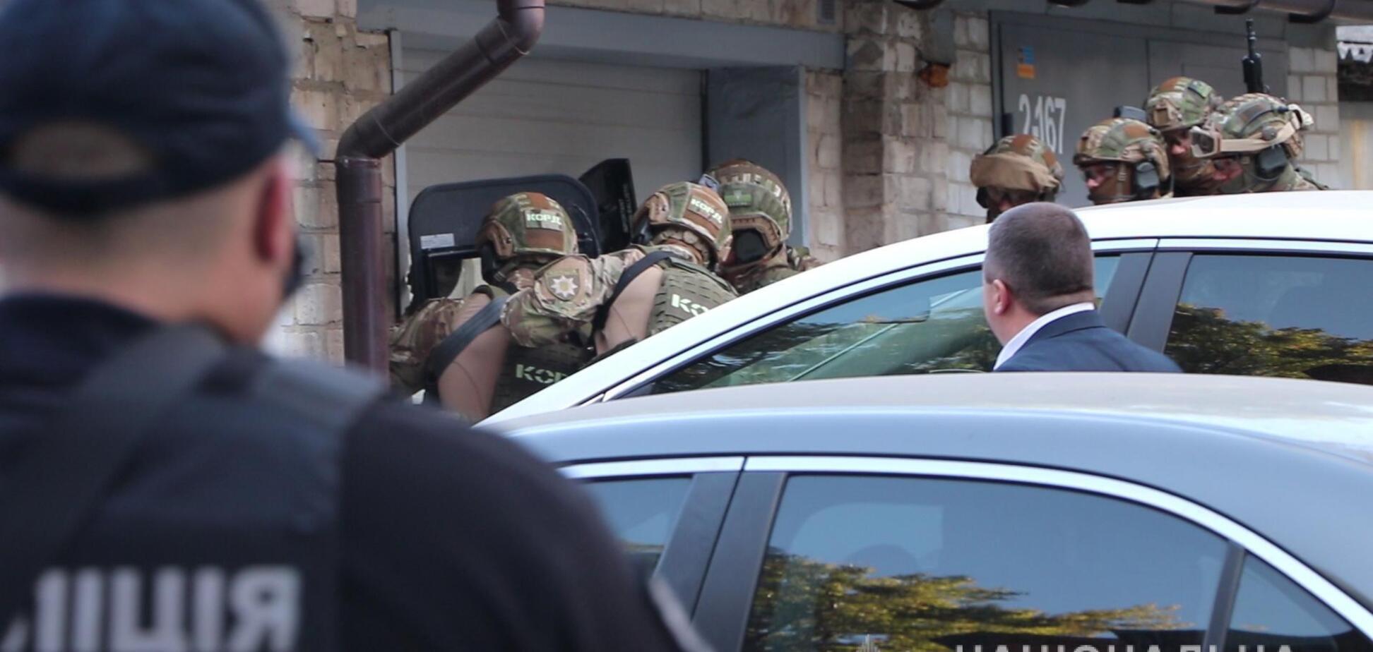 В Харькове в собственном гараже мужчина подорвал себя