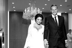 Новые фото со свадьбы Седоковой опубликовали в сети