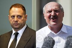 Андрей Ермак и Александр Лукашенко