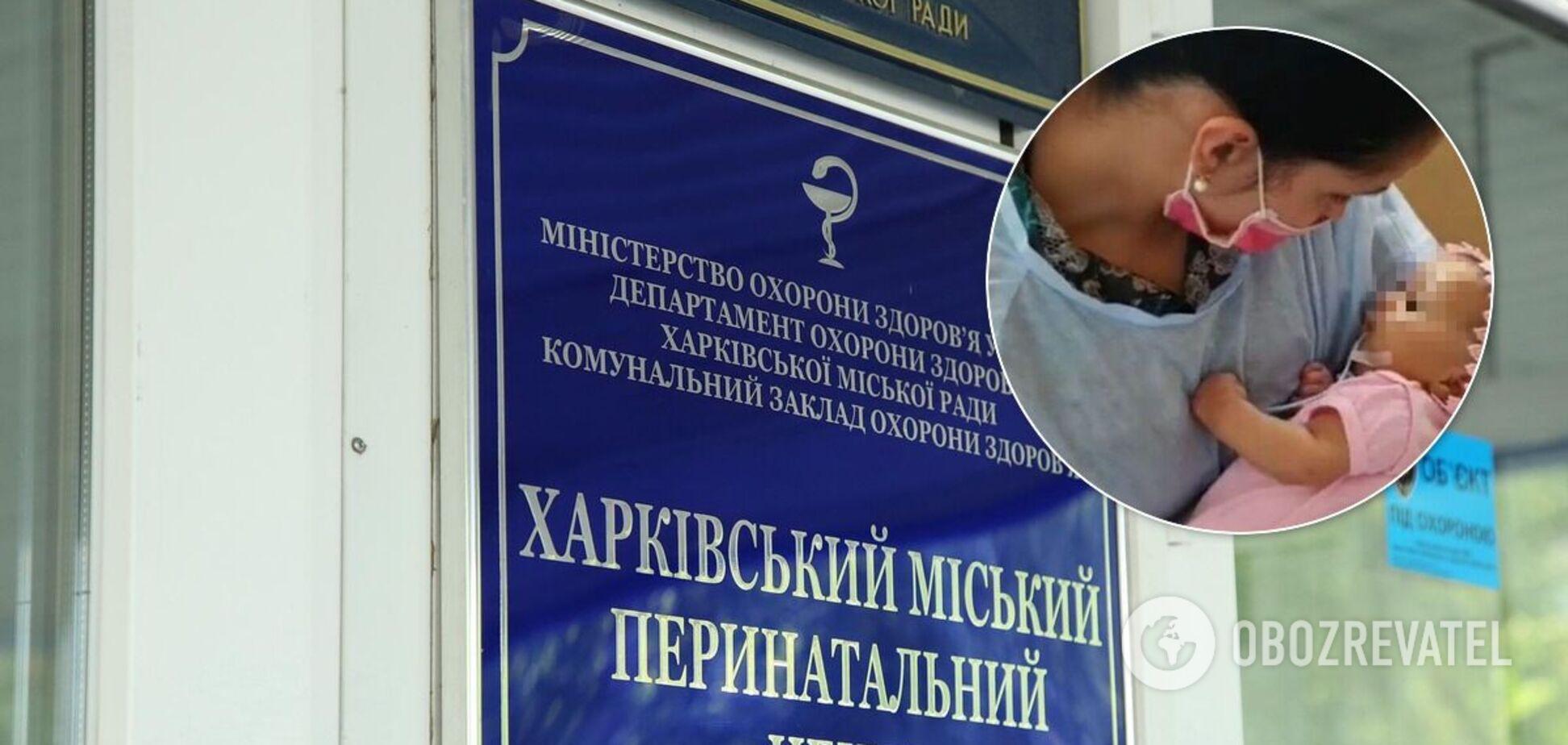Харьковчане обвинили врачей в том, что их ребенка покалечили