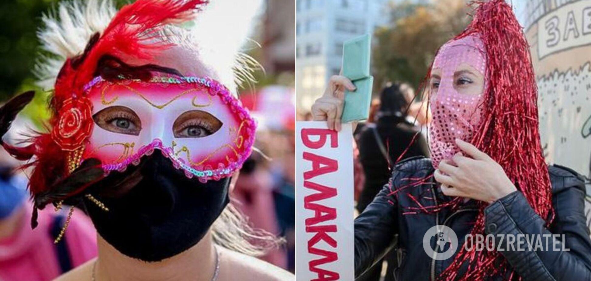 Белоруски вышли на марш в Минске