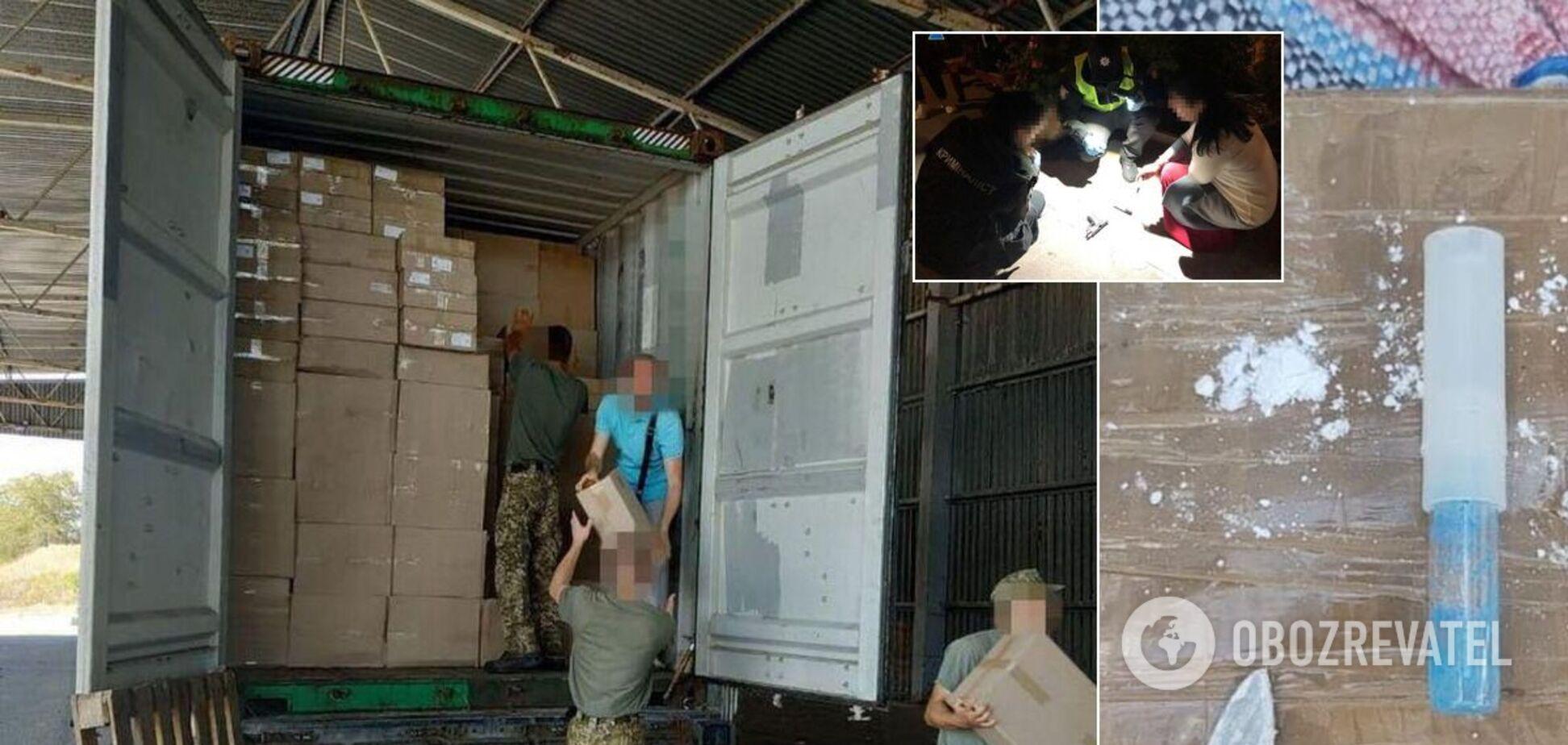 СБУ в Одессе предупредила контрабанду более 100 кг кокаина из Южной Америки