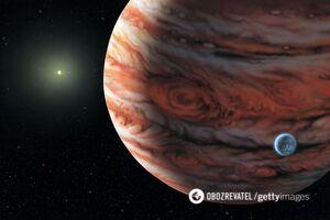 На Юпитере произошел шторм, что может поглотить Землю. Фото