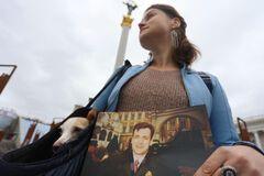В 20-ю годовщину убийства Гонгадзе, журналисты обратились к власти. Фото: Украинская правда