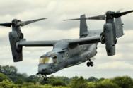 V-22 Osprey беруть участь у військових навчаннях