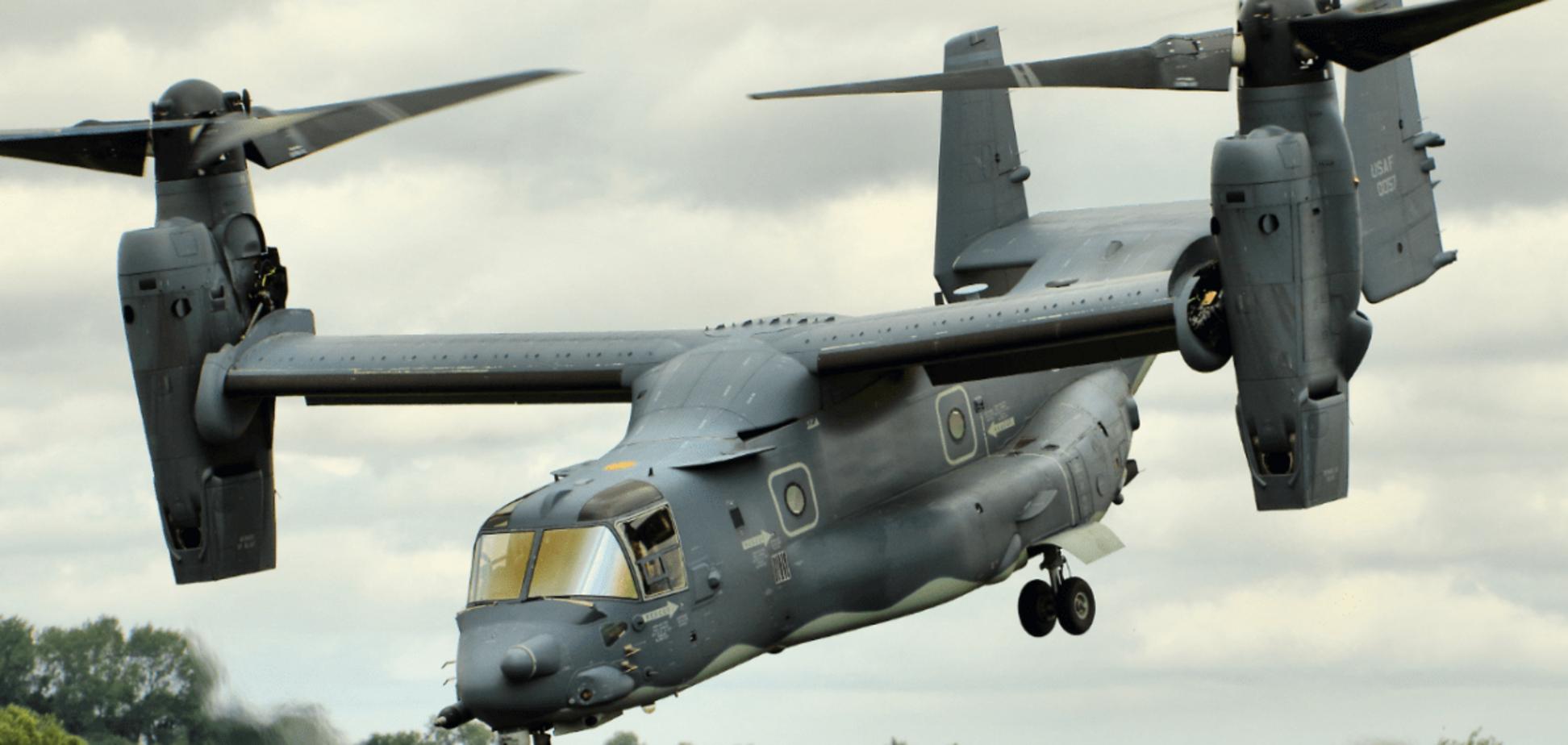 V-22 Osprey участвуют в военных учениях