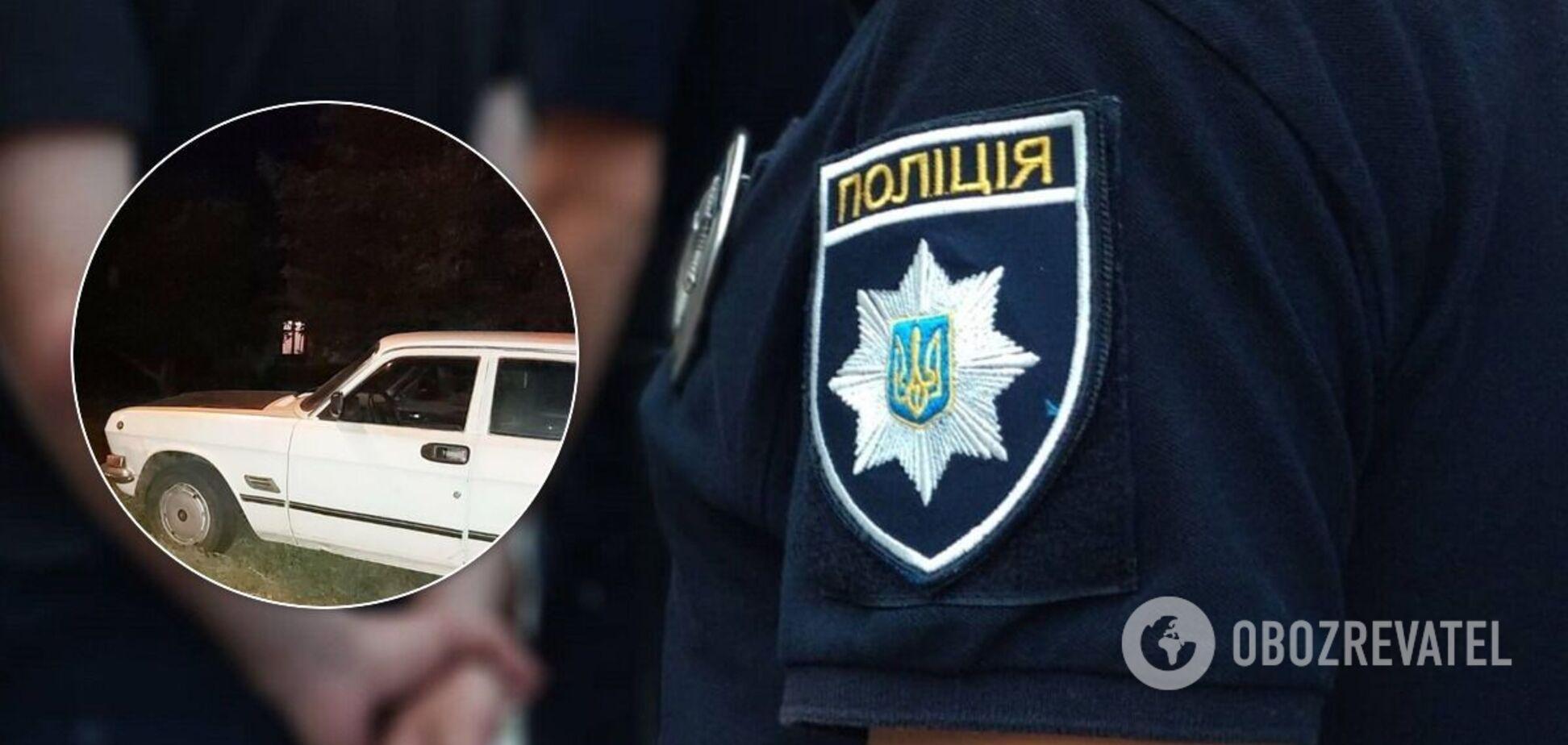 Під Дніпром водій намагався втекти та наїхав на поліцейського. Фото