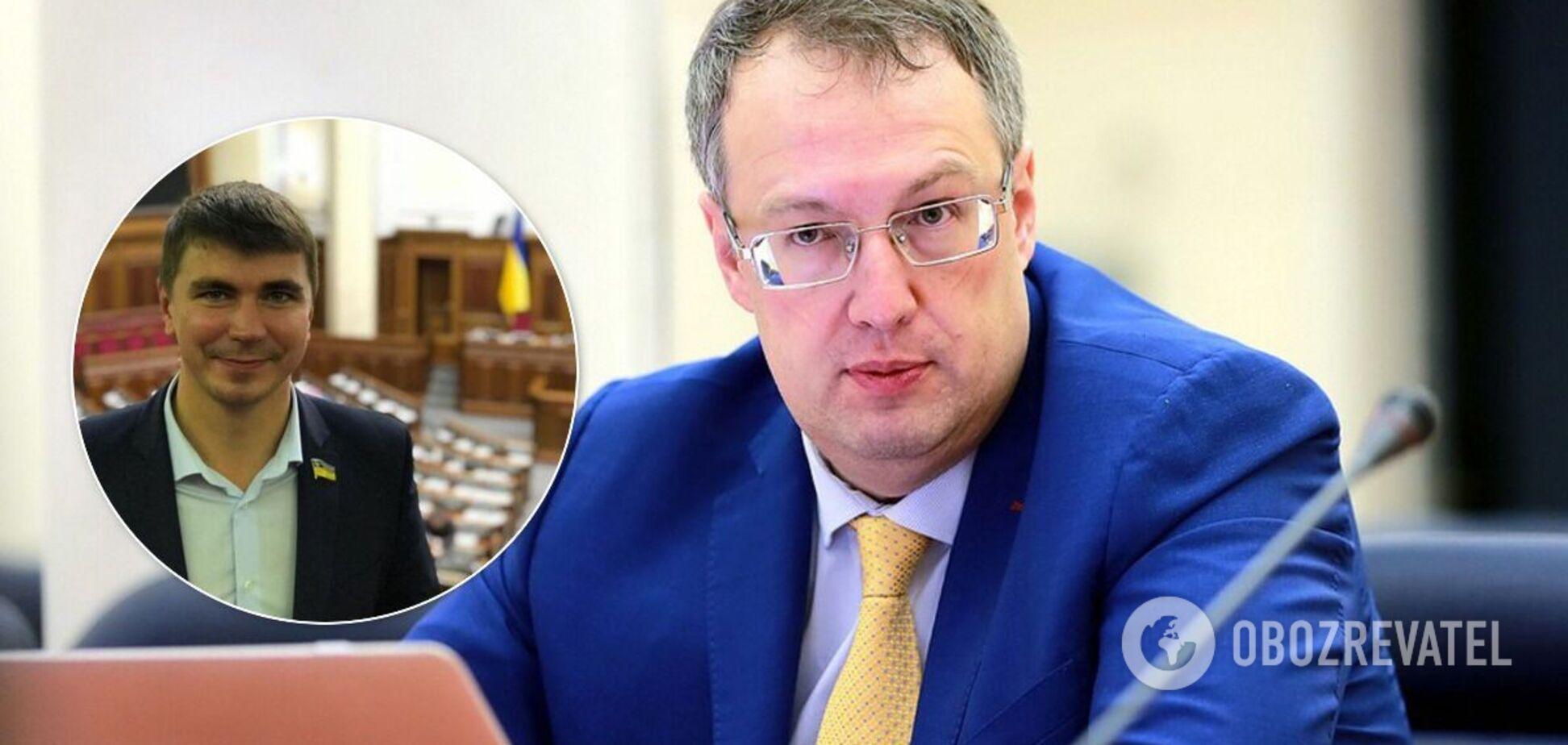 Антон Поляков и Антон Геращенко
