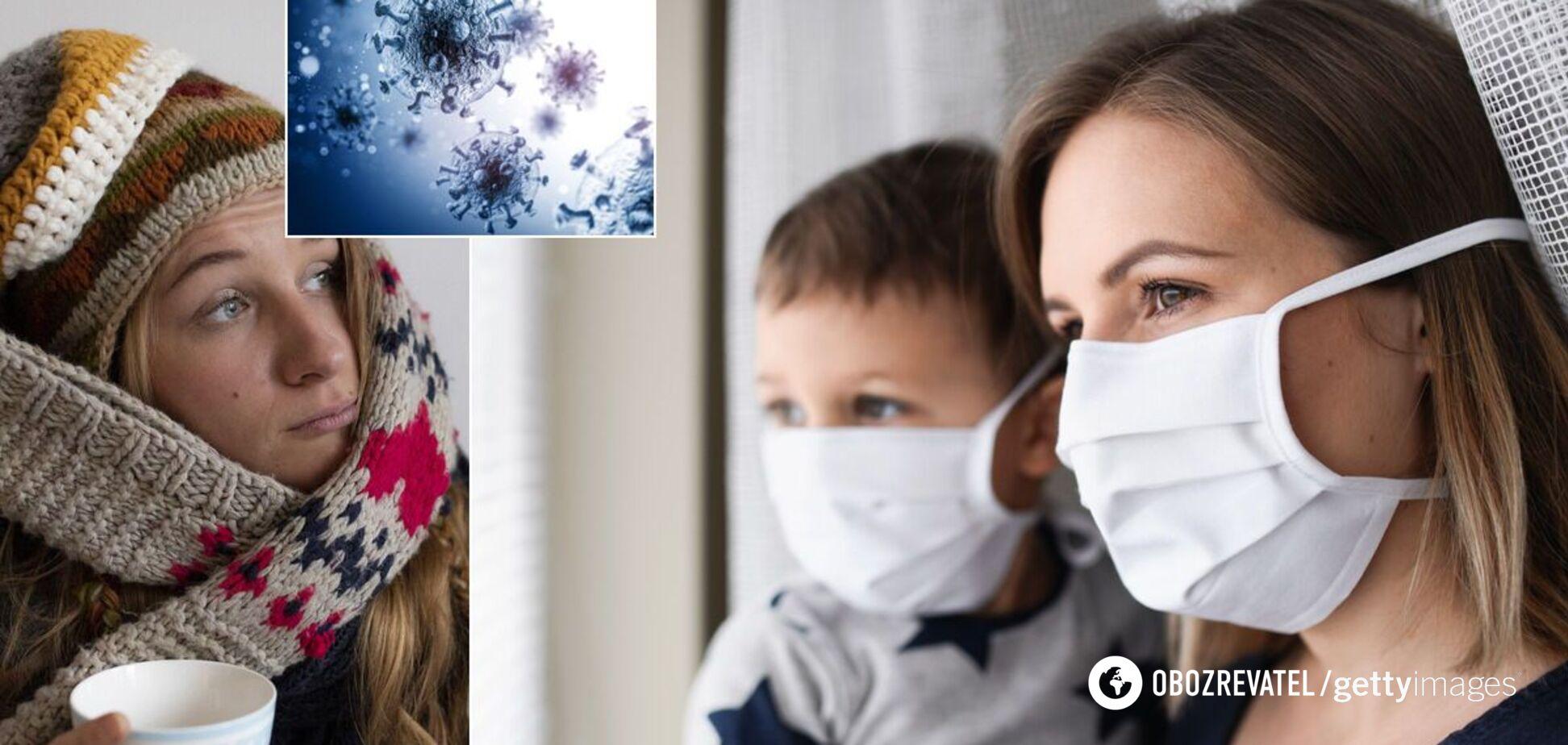 Коронавірус і грип