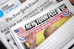 Газета New York Post  'перенесла' столицу Украины в Россию