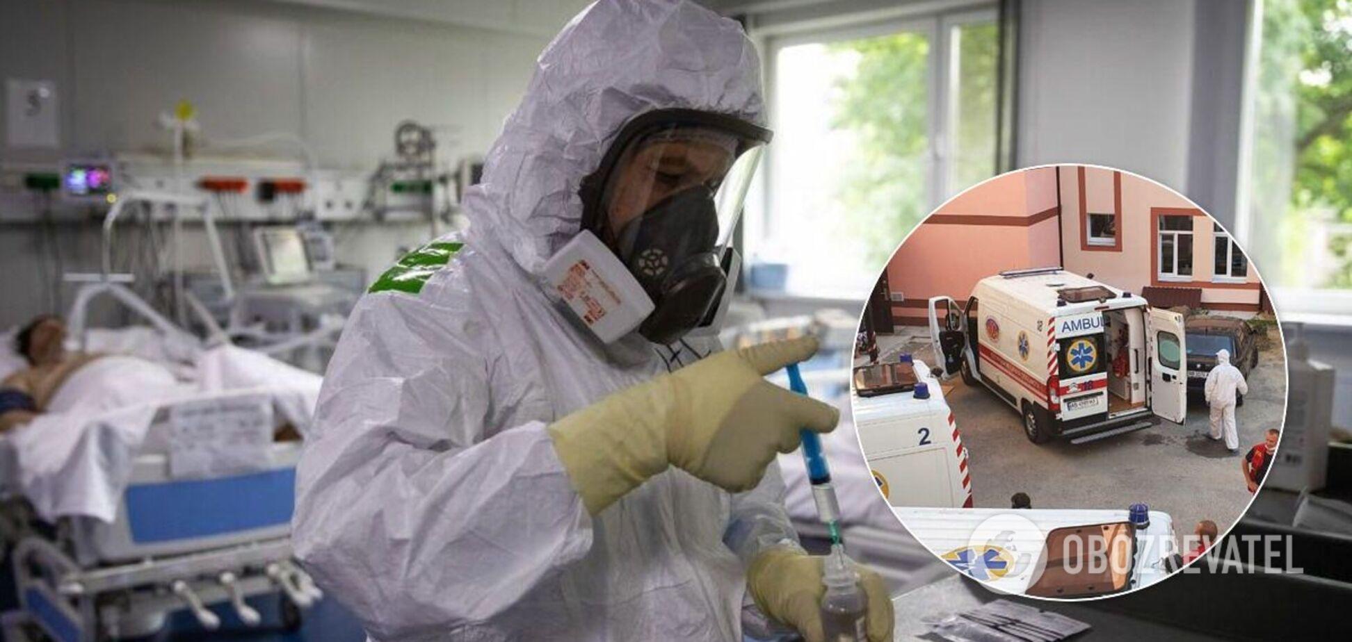 Мер Немирова показав, як працюють медики у лікарнях із хворими на СOVID-19