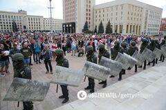 Санкции против Беларуси могут ввести из-за жестких разгонов протестов