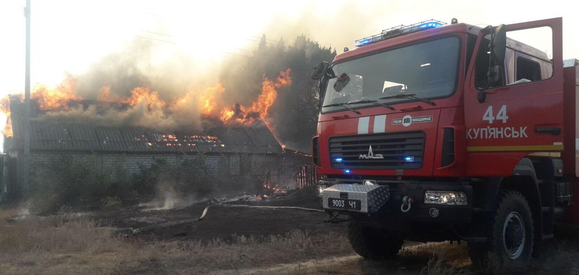 На Харьковщине вспыхнул лесной пожар