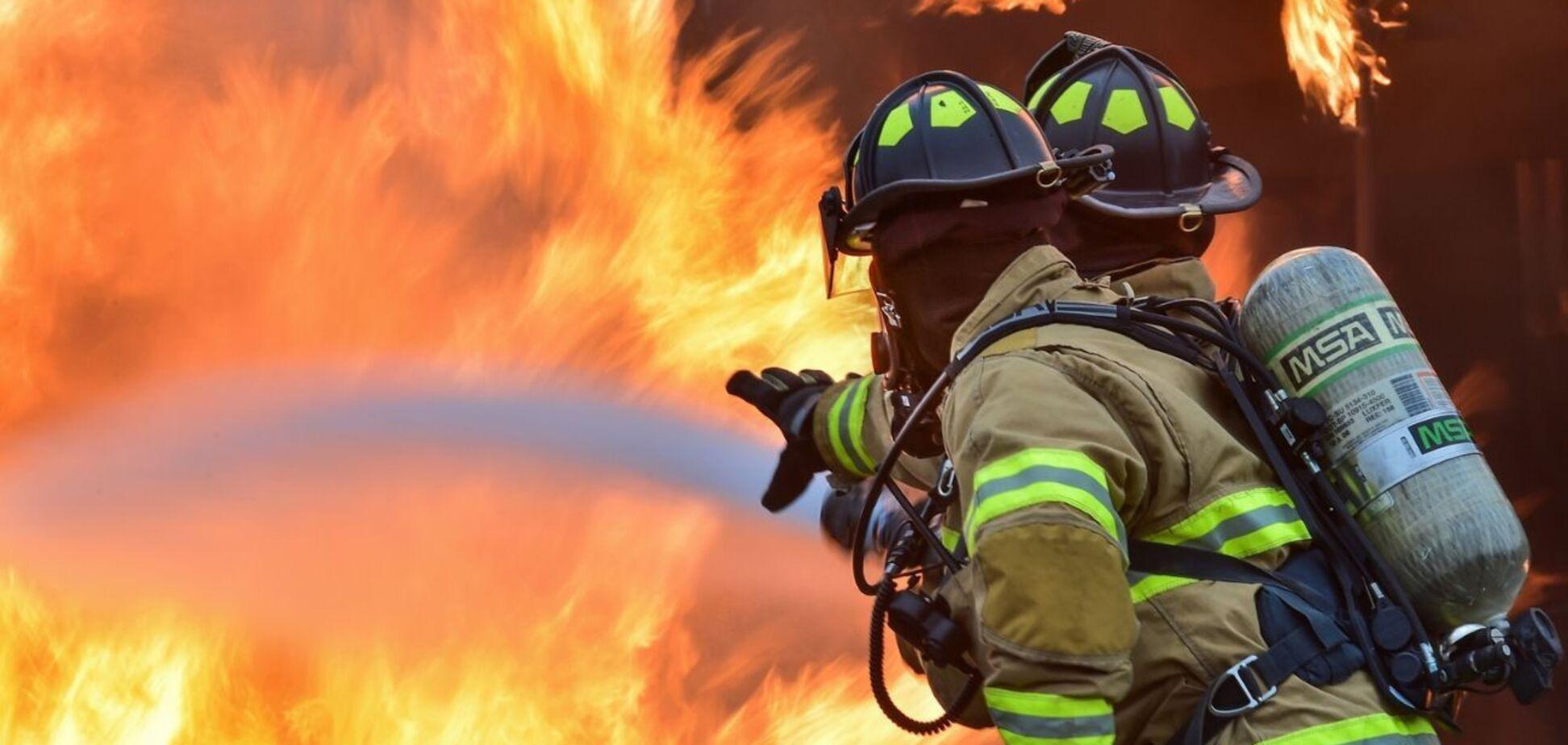 Під Дніпром чоловік загинув під час пожежі у власному будинку. Фото НП