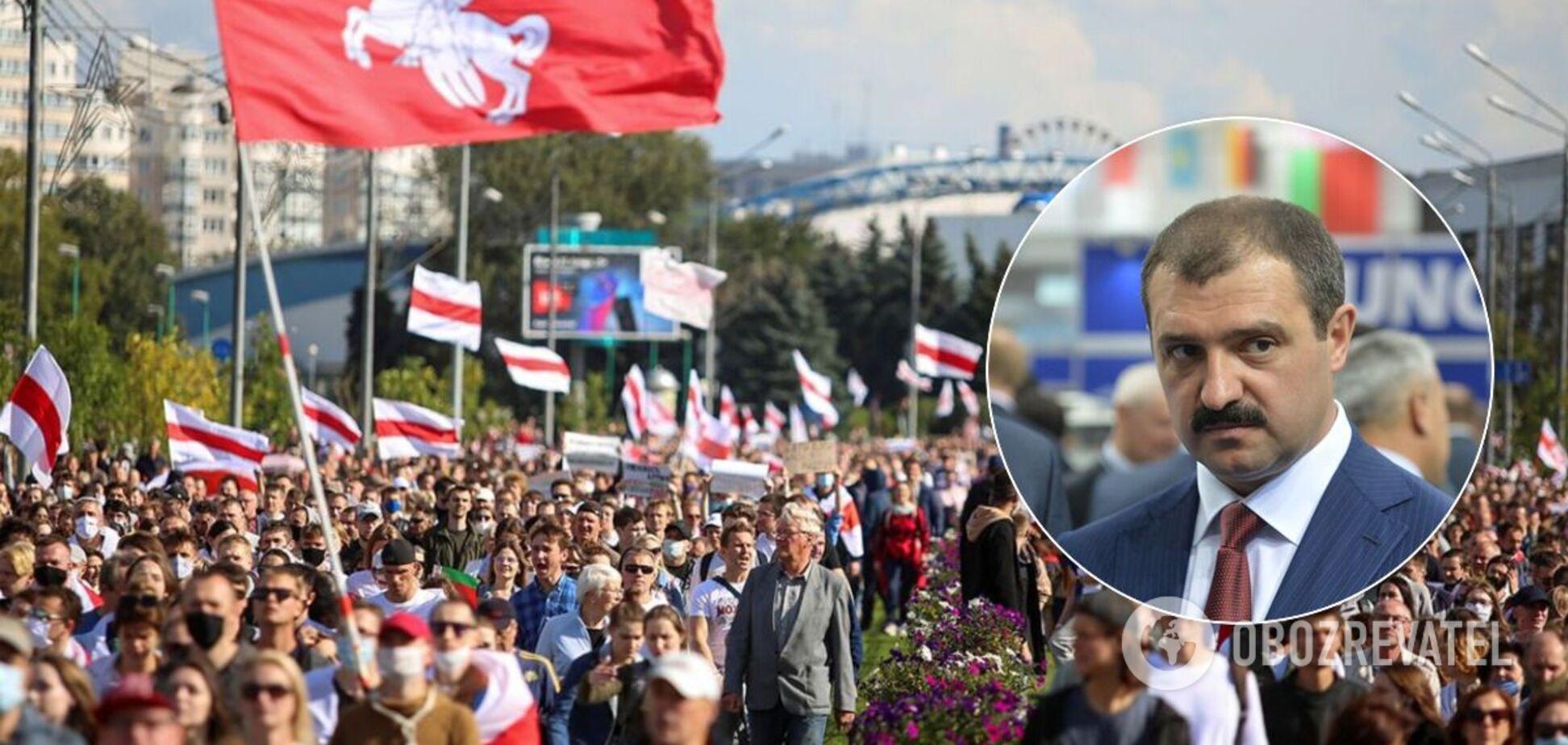Нам не страшно, – сын Лукашенко высказался о протестах в Беларуси