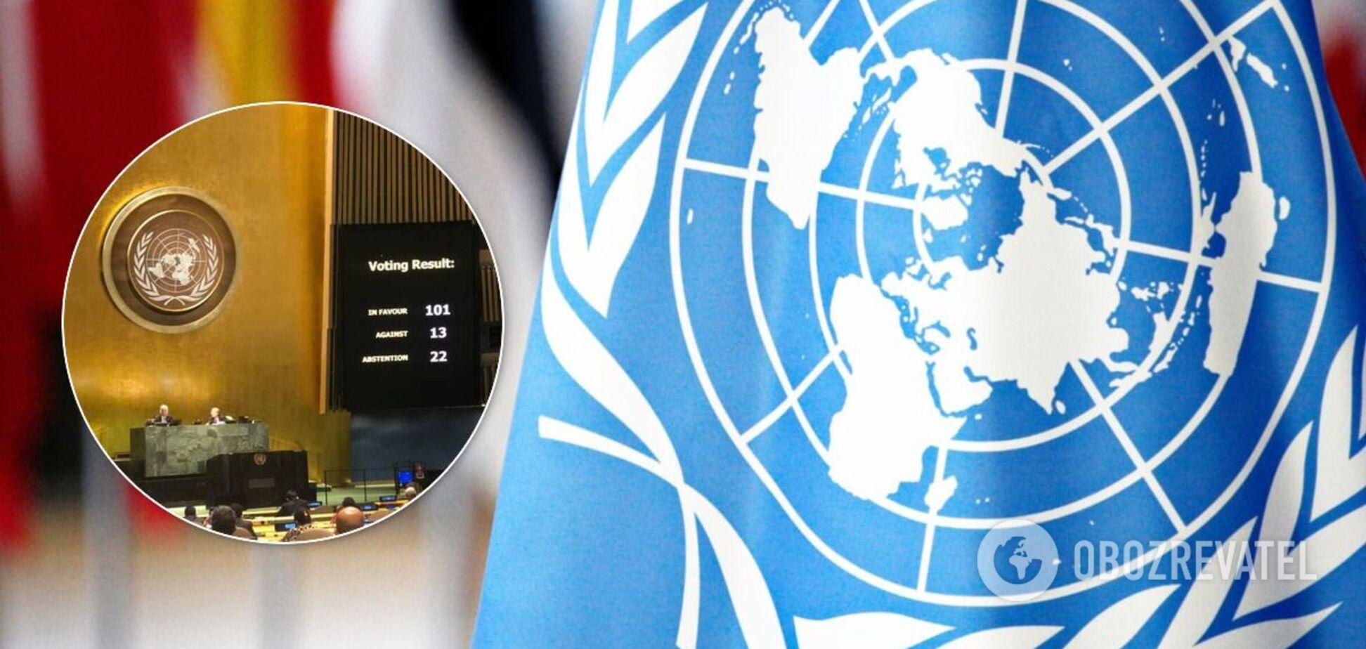 Авторитарні країни в ООН виступили проти 'обов'язку захищати'