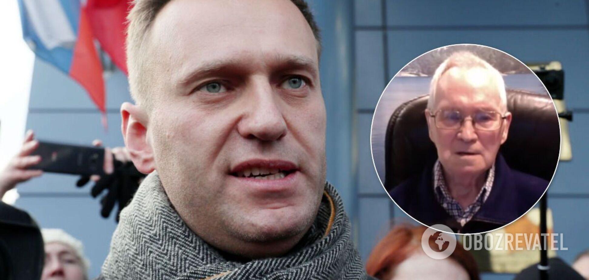 Создатель 'Новичка' извинился перед Навальным из-за отравления