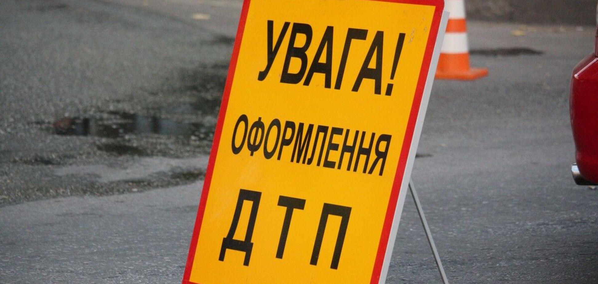Під Дніпром через зіткнення скутера та легковика постраждала жінка. Фото