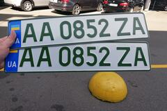 В Украине начали выдавать номера для электромобилей: как они выглядят
