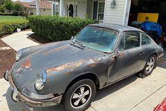 Редкий Porsche ржавел в сарае 25 лет: сейчас его выставили на продажу